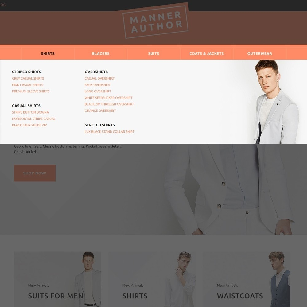 theme - Moda & Calçados - MannerAuthor - Men Clothes - 4