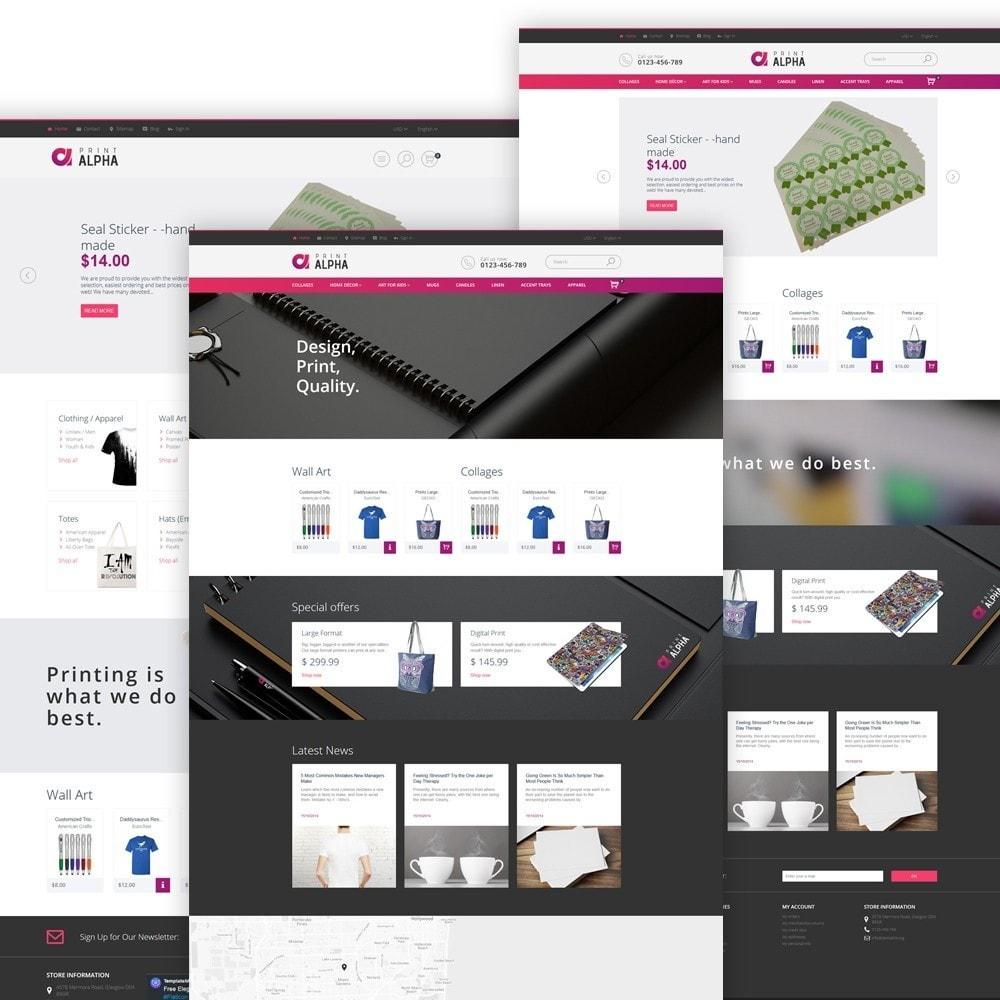 theme - Искусство и Культура - PrintAlpha - шаблон для магазина полиграфии - 2