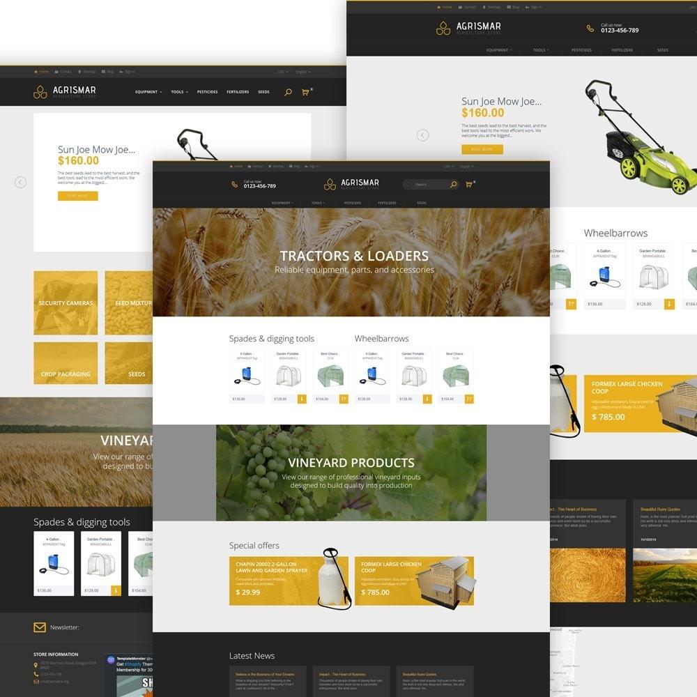 theme - Дом и сад - Agrismar -шаблон для сельскохозяйственных компаний - 2
