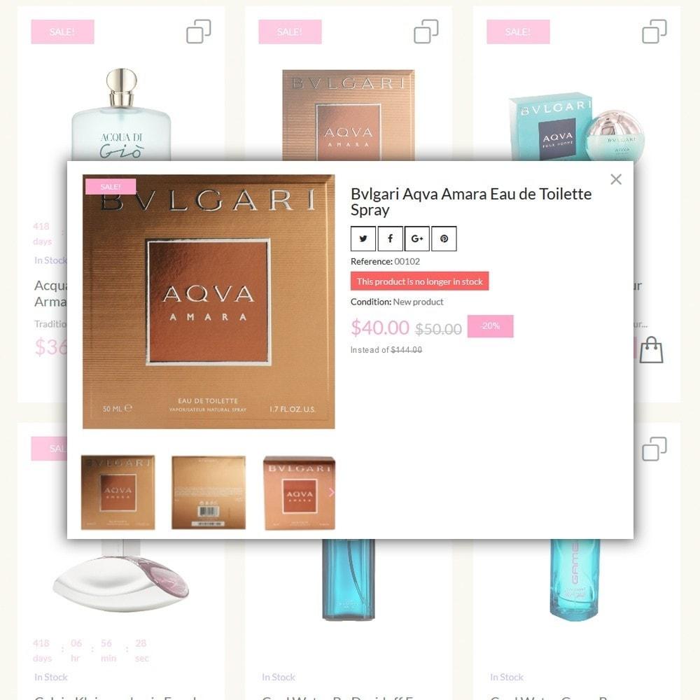 theme - Мода и обувь - Lunalin - шаблон на тему магазин косметики - 6