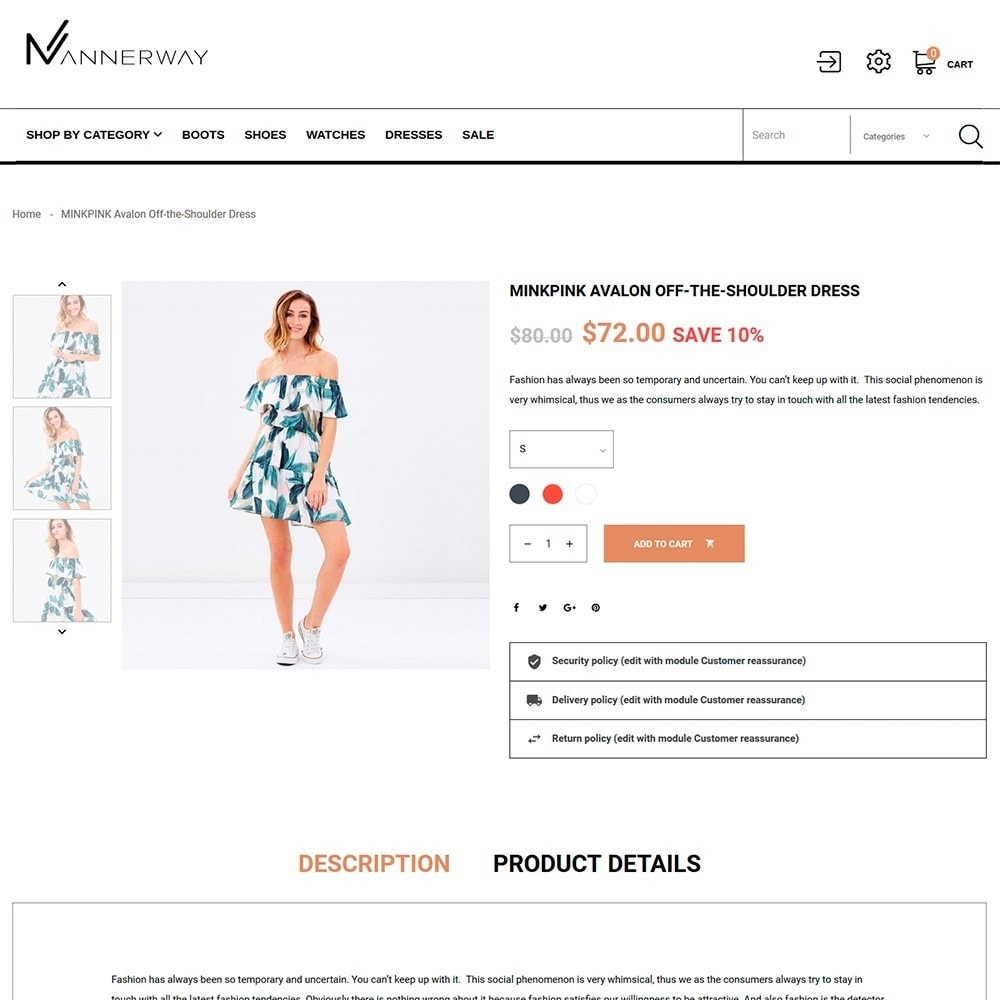 theme - Мода и обувь - Lunalin - шаблон модной одежды - 5