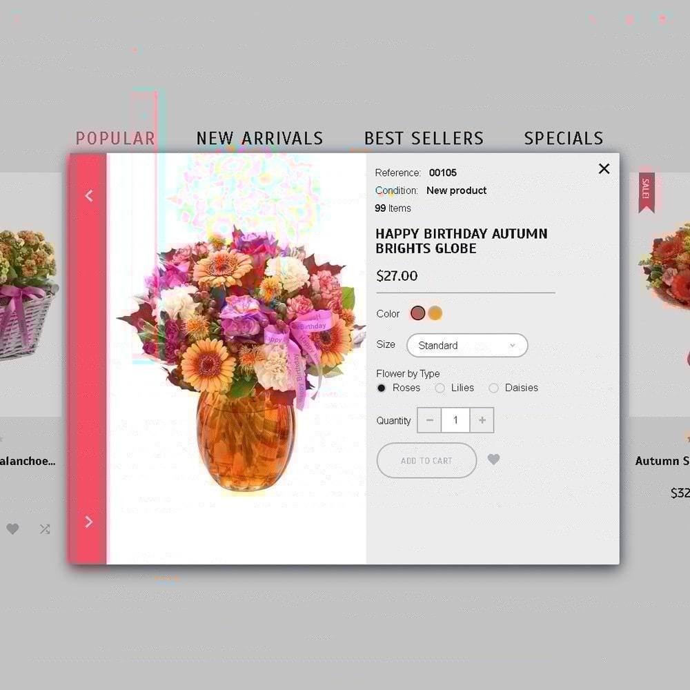 theme - Cadeaux, Fleurs et Fêtes - Florabido - Bouquets et arrangements floraux - 6