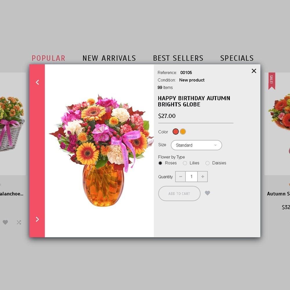 theme - Подарки, Цветы и праздничные товары - Florabido - шаблон цветочного магазина - 1