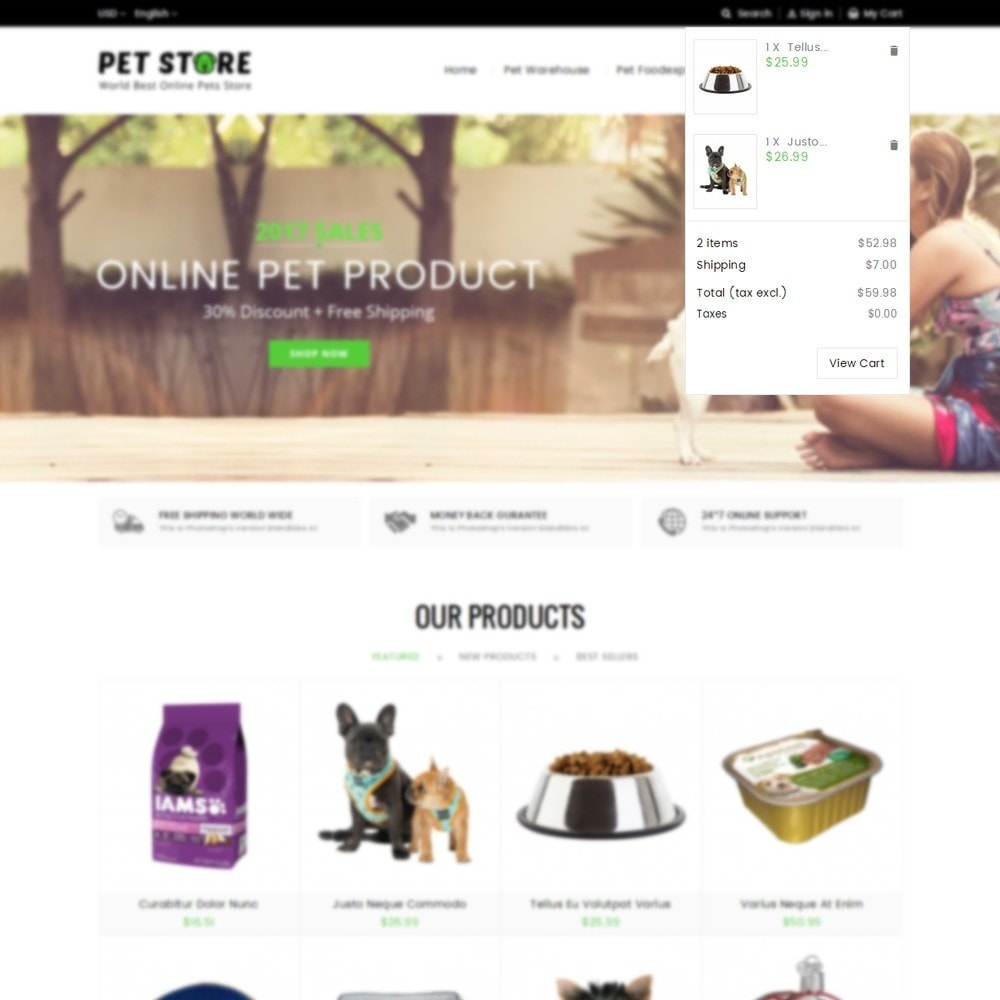 theme - Tier - Pet Store - 7