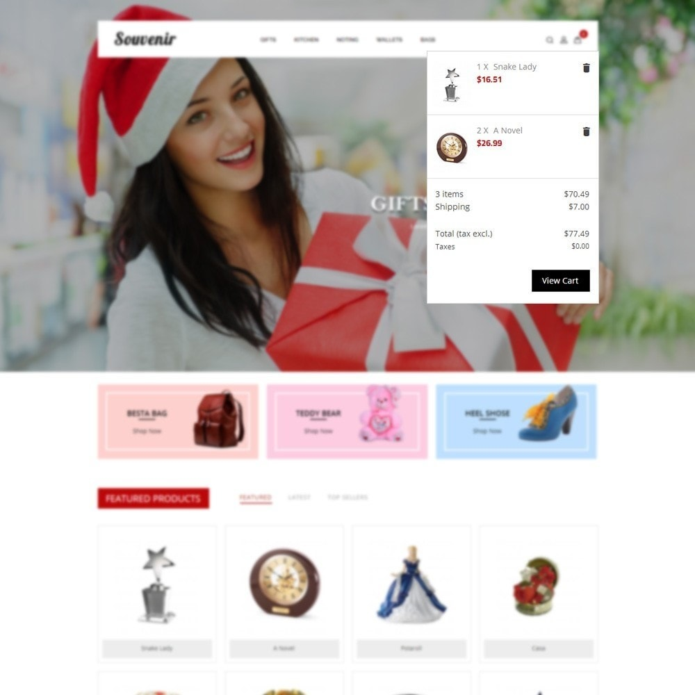 theme - Подарки, Цветы и праздничные товары - Sovunier Store - 6