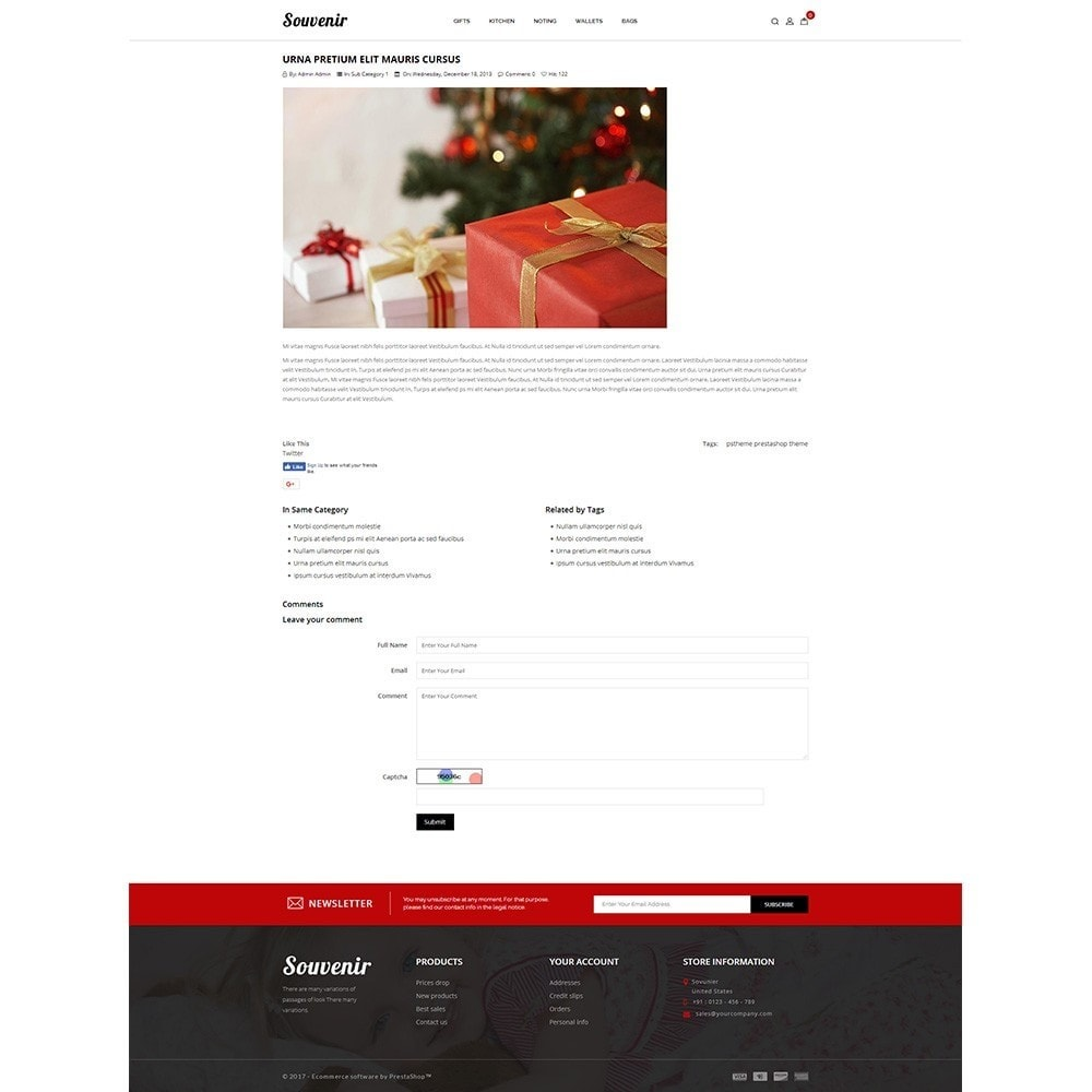 theme - Подарки, Цветы и праздничные товары - Sovunier Store - 8