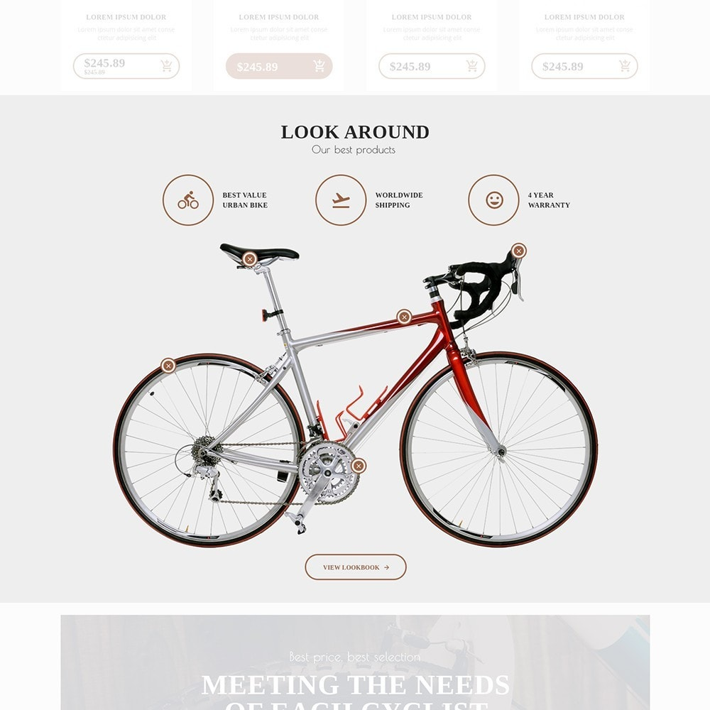 theme - Sports, Activities & Travel - BigBike - Bike Shop Responsive - 4
