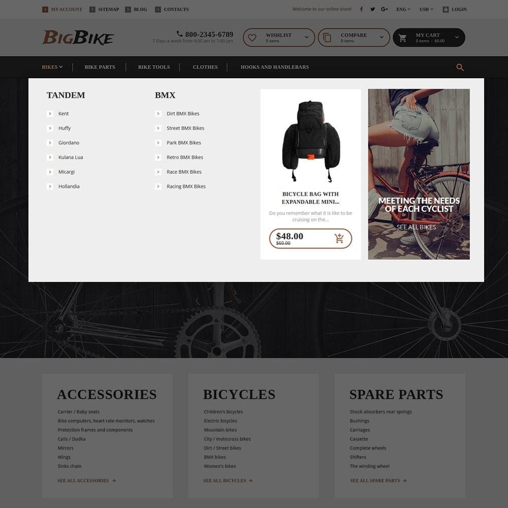 theme - Спорт и Путешествия - BigBike - шаблон по продаже велосипедов - 6