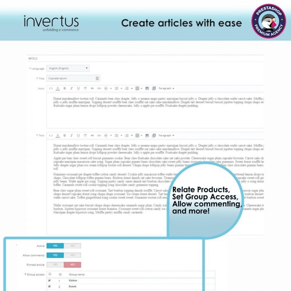 module - Блог, форумов и новостей - Blog Simple - 5