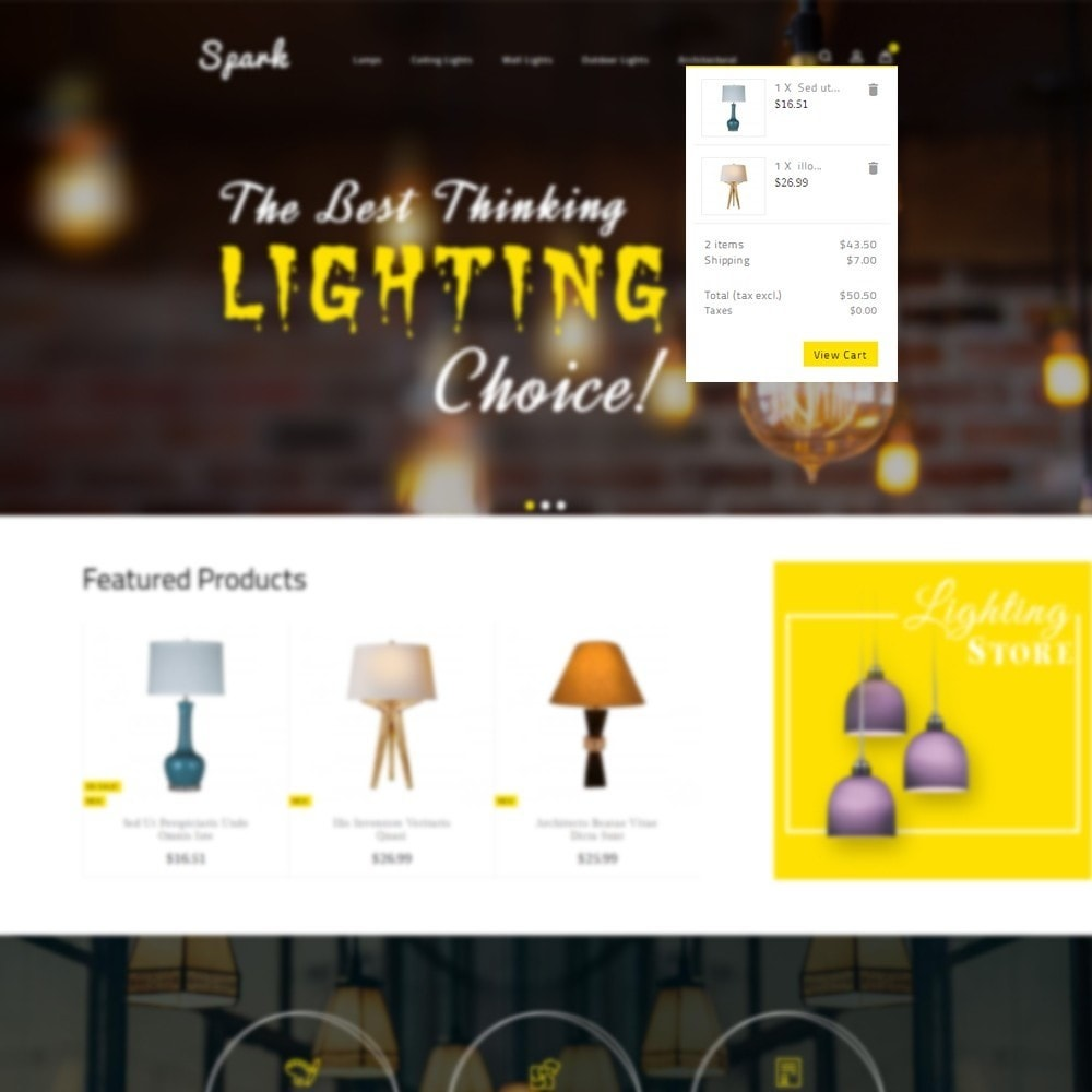 theme - Casa & Giardino - Spark Lighting Store - 6