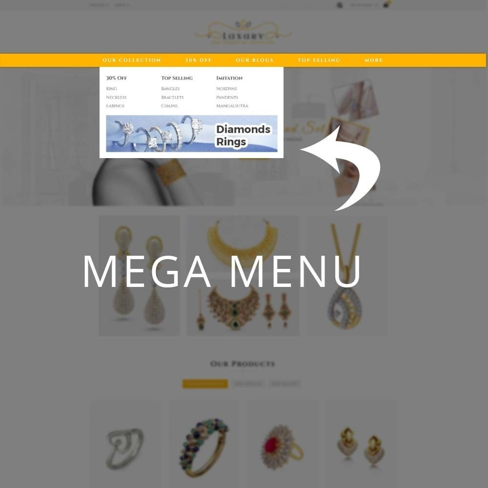 theme - Schmuck & Accesoires - Luxury Jewellery Store - 9
