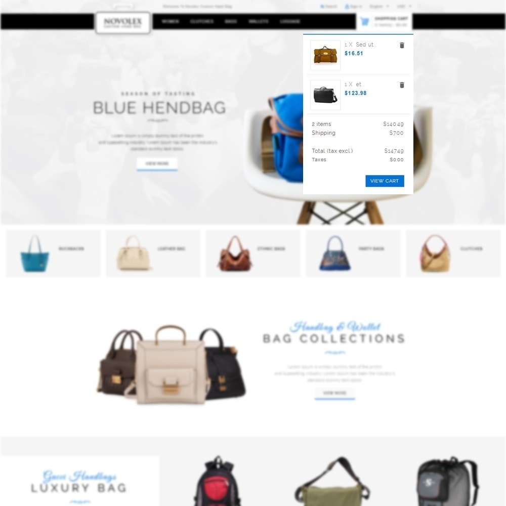 theme - Fashion & Shoes - Novolex Handbag Store - 6