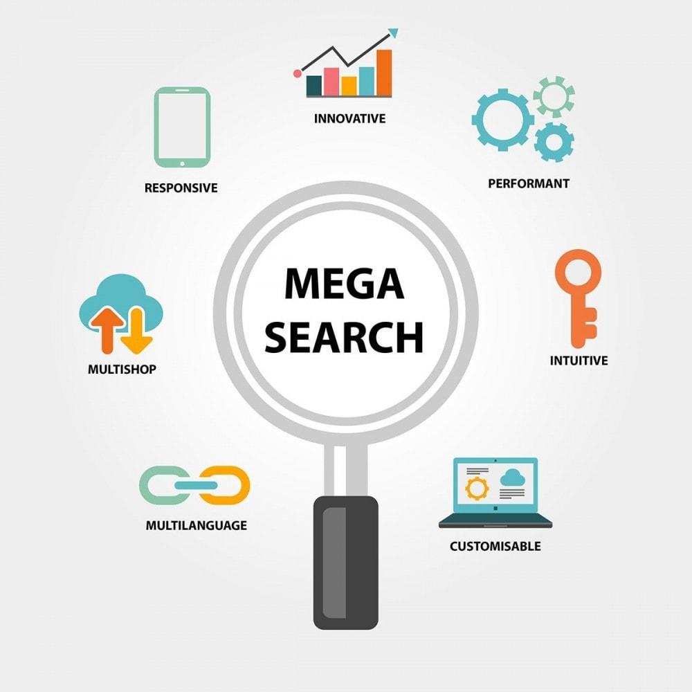 module - Búsquedas y Filtros - MEGA Search - Bloque de búsqueda de diseño múltiple - 2