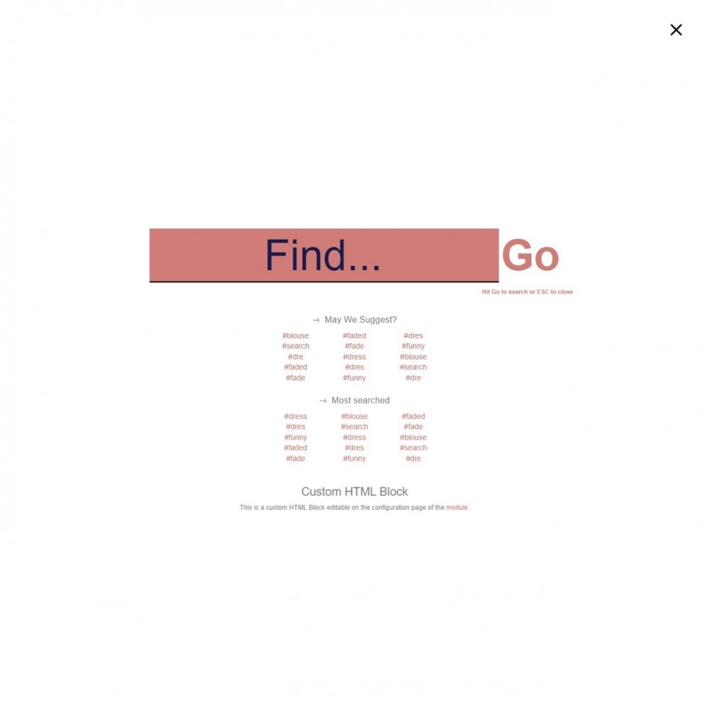 module - Поиск и фильтры - Поиск MEGA - Несколько блоков поиска шаблонов - 12