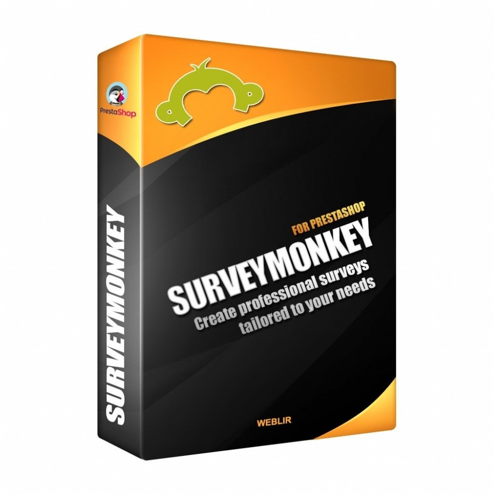 module - Formulaires de Contact & Sondages - SurveyMonkey Integration - Professional surveys - 1