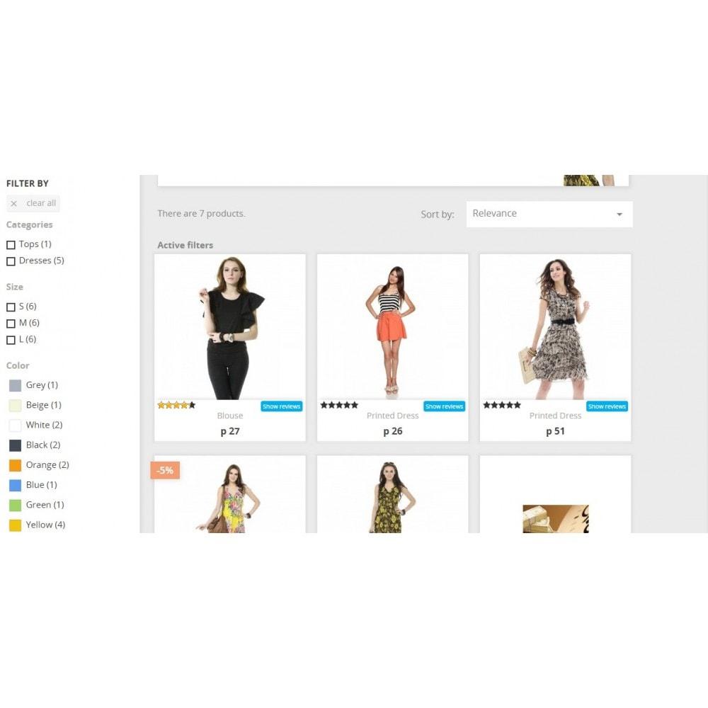 module - Отзывы клиентов - Отзывы о товаре в категории и странице товара - 5