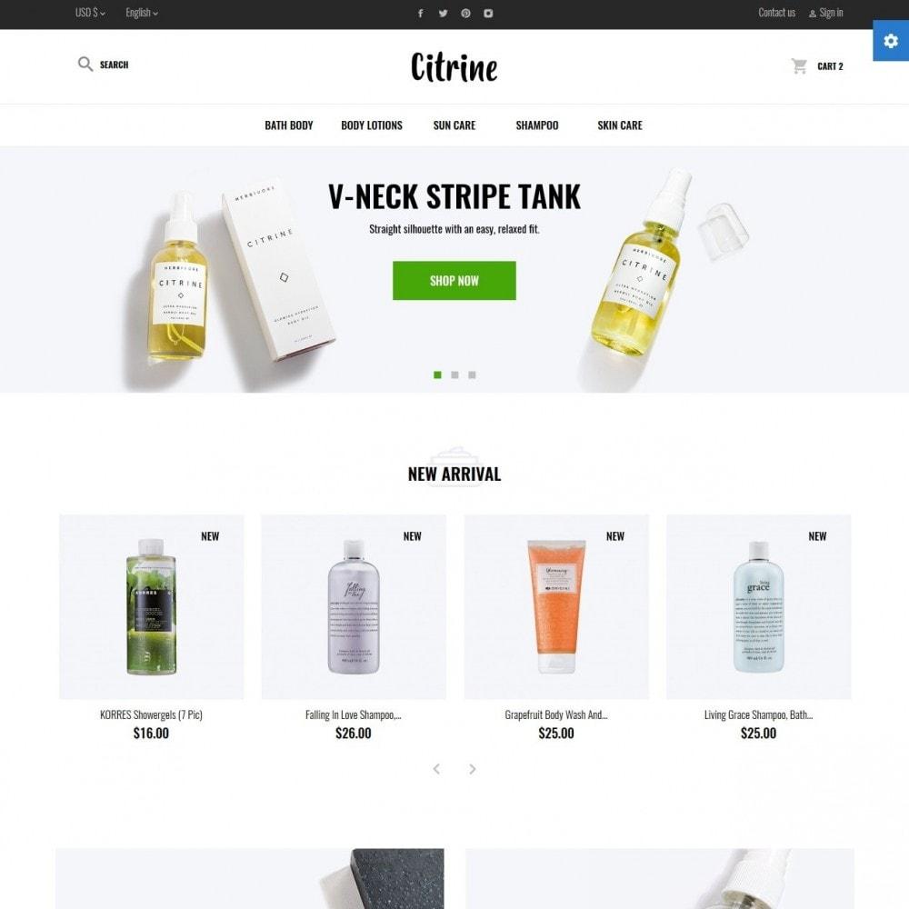 theme - Zdrowie & Uroda - Citrine Cosmetics - 2