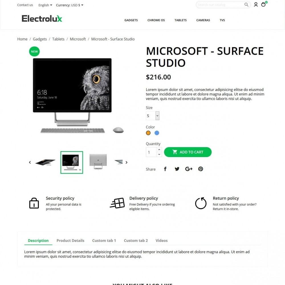 theme - Electronics & Computers - Electrolux - High-tech Shop - 6
