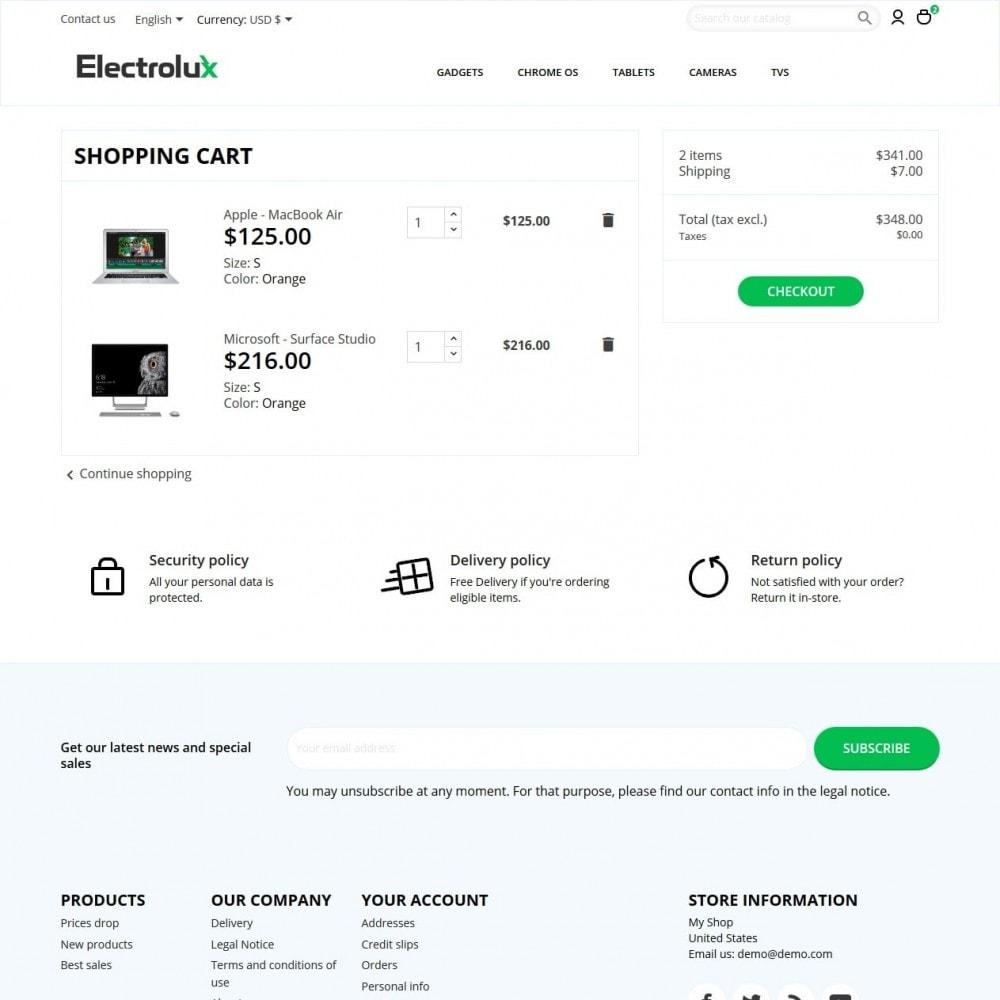 theme - Elettronica & High Tech - Electrolux - High-tech Shop - 7