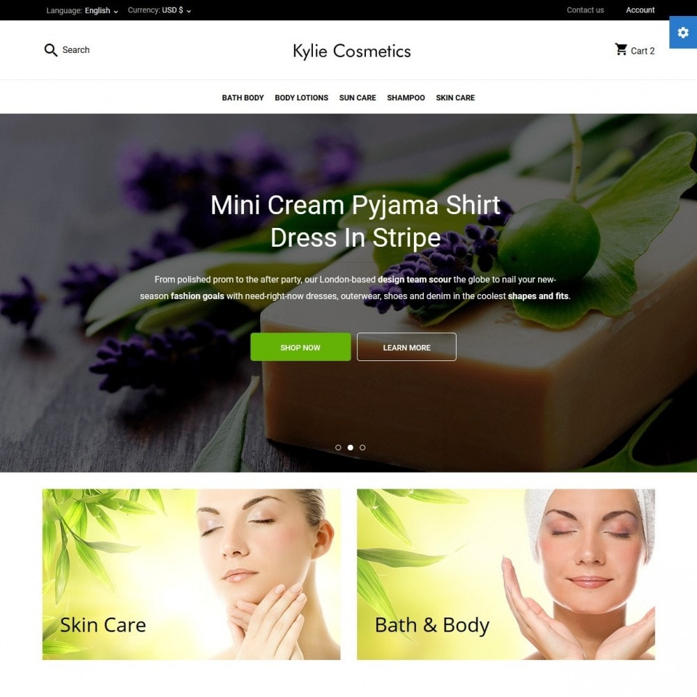theme - Health & Beauty - Kylie Cosmetics - 2