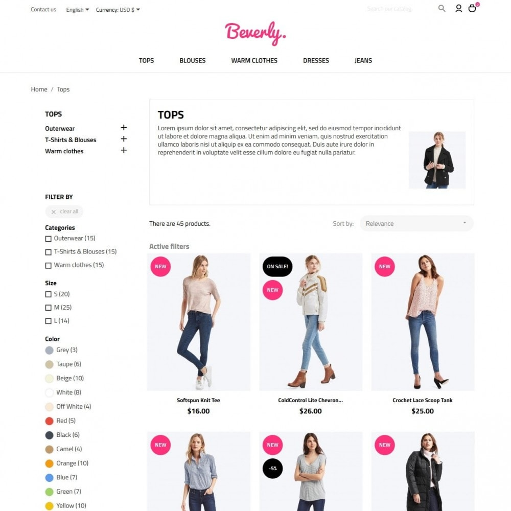 theme - Mode & Schoenen - Beverly Fashion Store - 5