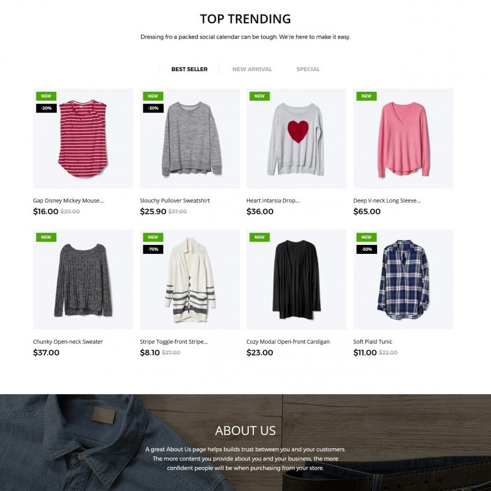 theme - Mode & Chaussures - Ashlee Fashion Store - 3