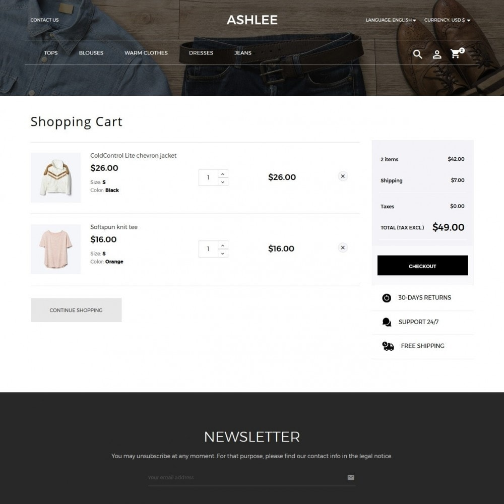 theme - Fashion & Shoes - Ashlee Fashion Store - 7