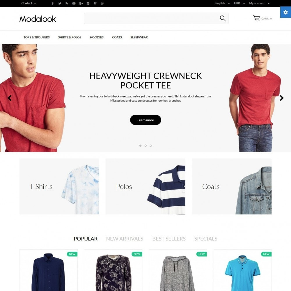 theme - Mode & Chaussures - Modalook Men's Wear - 2