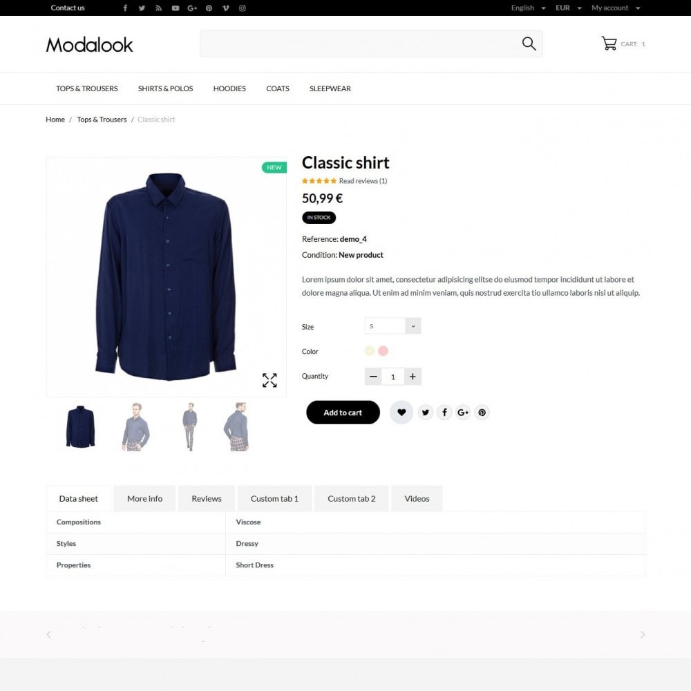 theme - Moda & Calzature - Modalook Men's Wear - 6