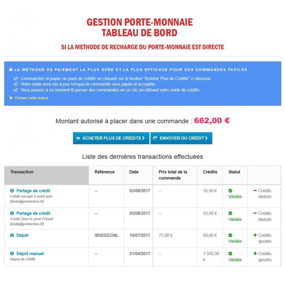 module - Prépaiement - Wk Cartes Prépayées - 14
