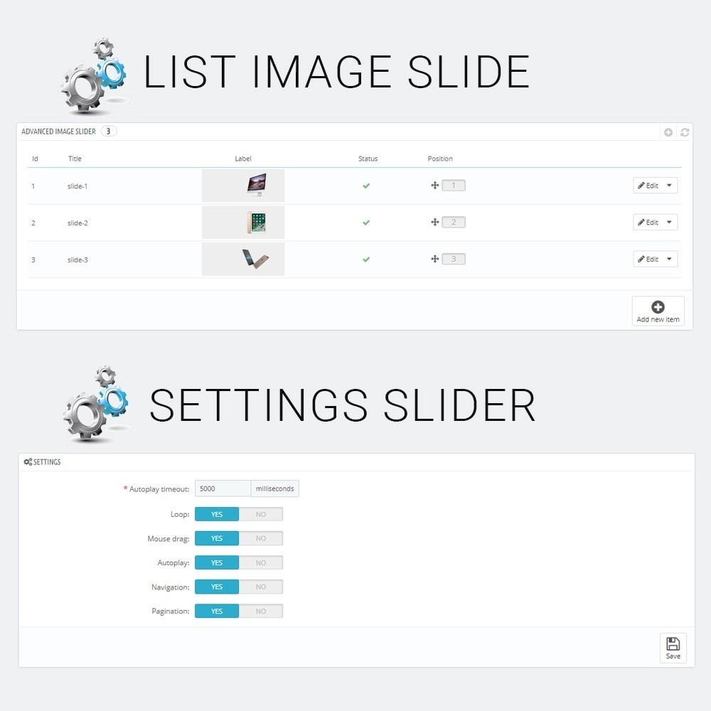 module - Slider & Gallerie - Advanced Image Slider - 3
