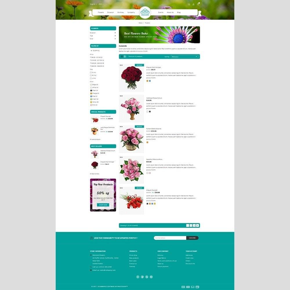 theme - Cadeaux, Fleurs et Fêtes - Blossom Flower - 4