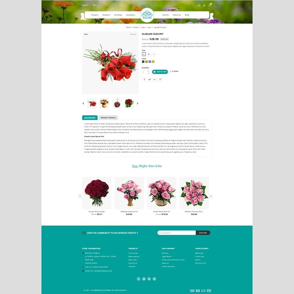 theme - Heim & Garten - Blossom Flower - 5