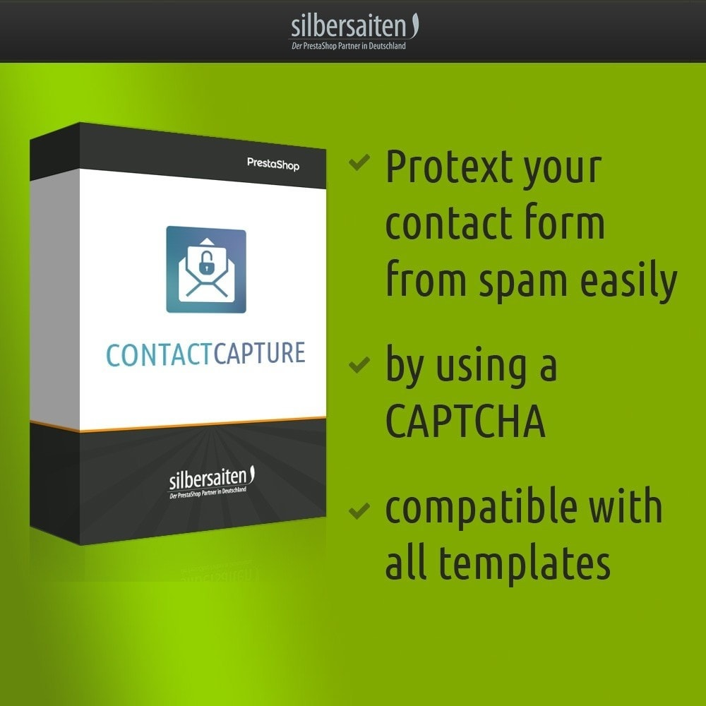 module - Security & Access - Contact Capture - protect your contact form from span - 1