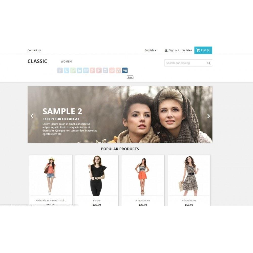 module - Boutons de Partage & Commentaires - CoolShare Plus Social networks - 3
