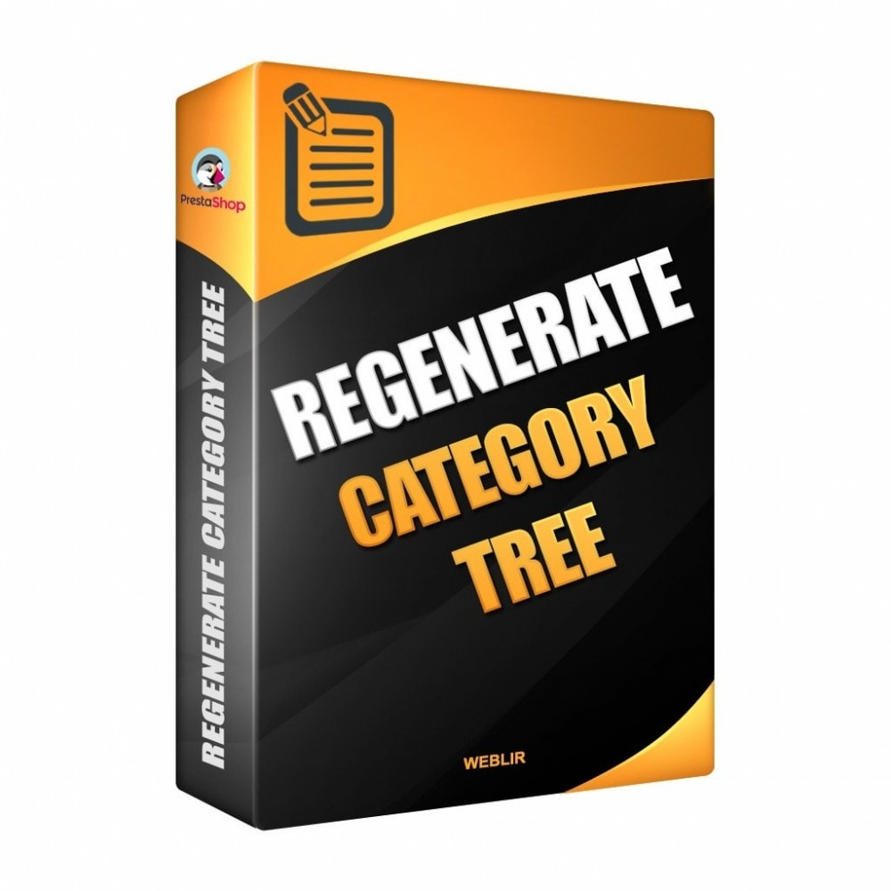module - Snelle & seriematige bewerking - Regenerate the category tree - 1