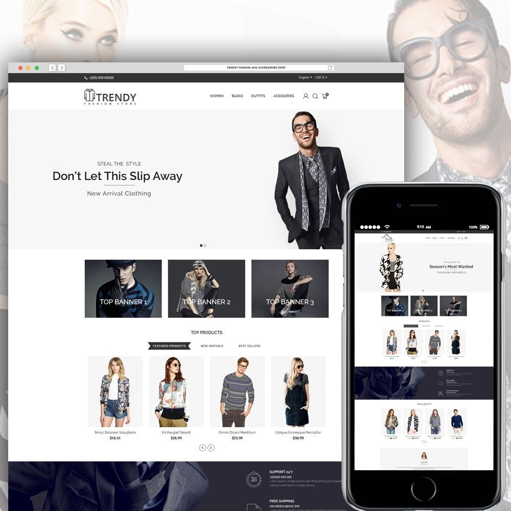 theme - Mode & Schuhe - Trendy Fashion Store - 1