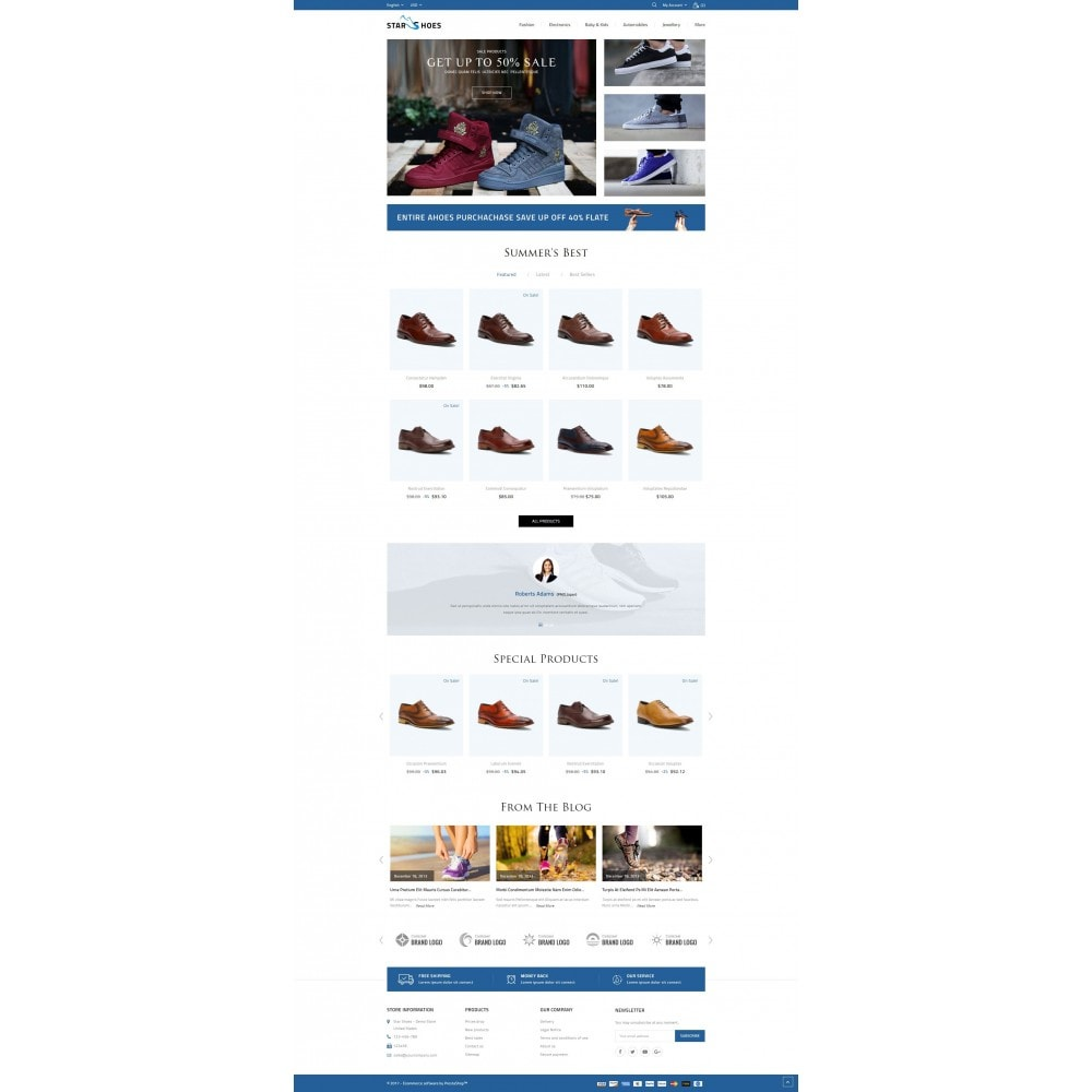 theme - Moda y Calzado - Online Shoes Store - 2