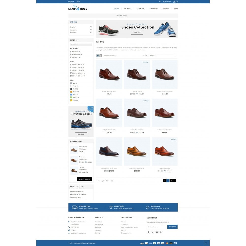 theme - Mode & Schuhe - Online Shoes Store - 3