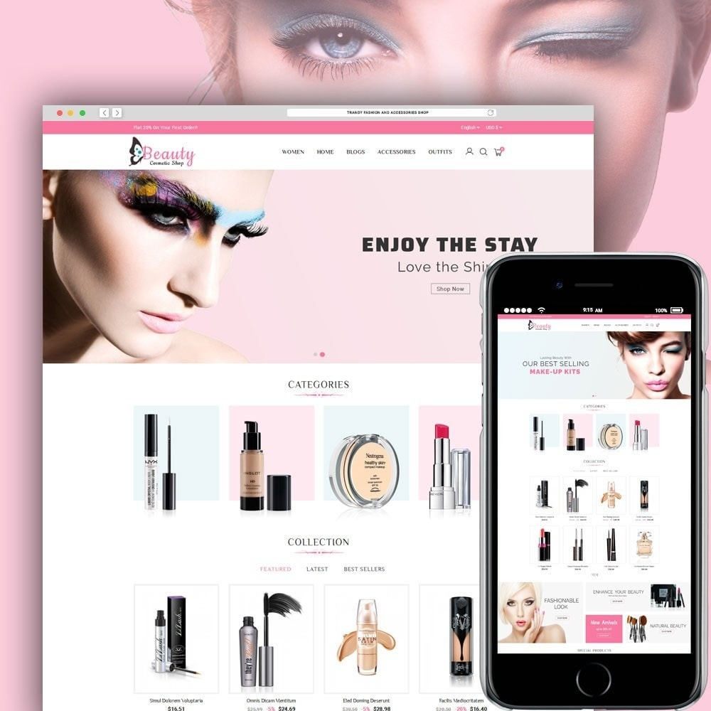theme - Salud y Belleza - Beauty Cosmetic Shop - 4