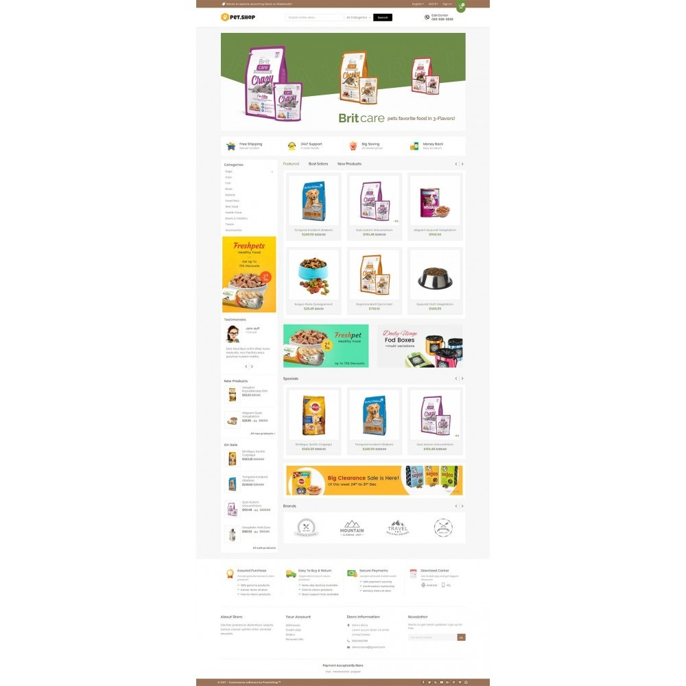 theme - Animaux - Mega Pet Food - 2