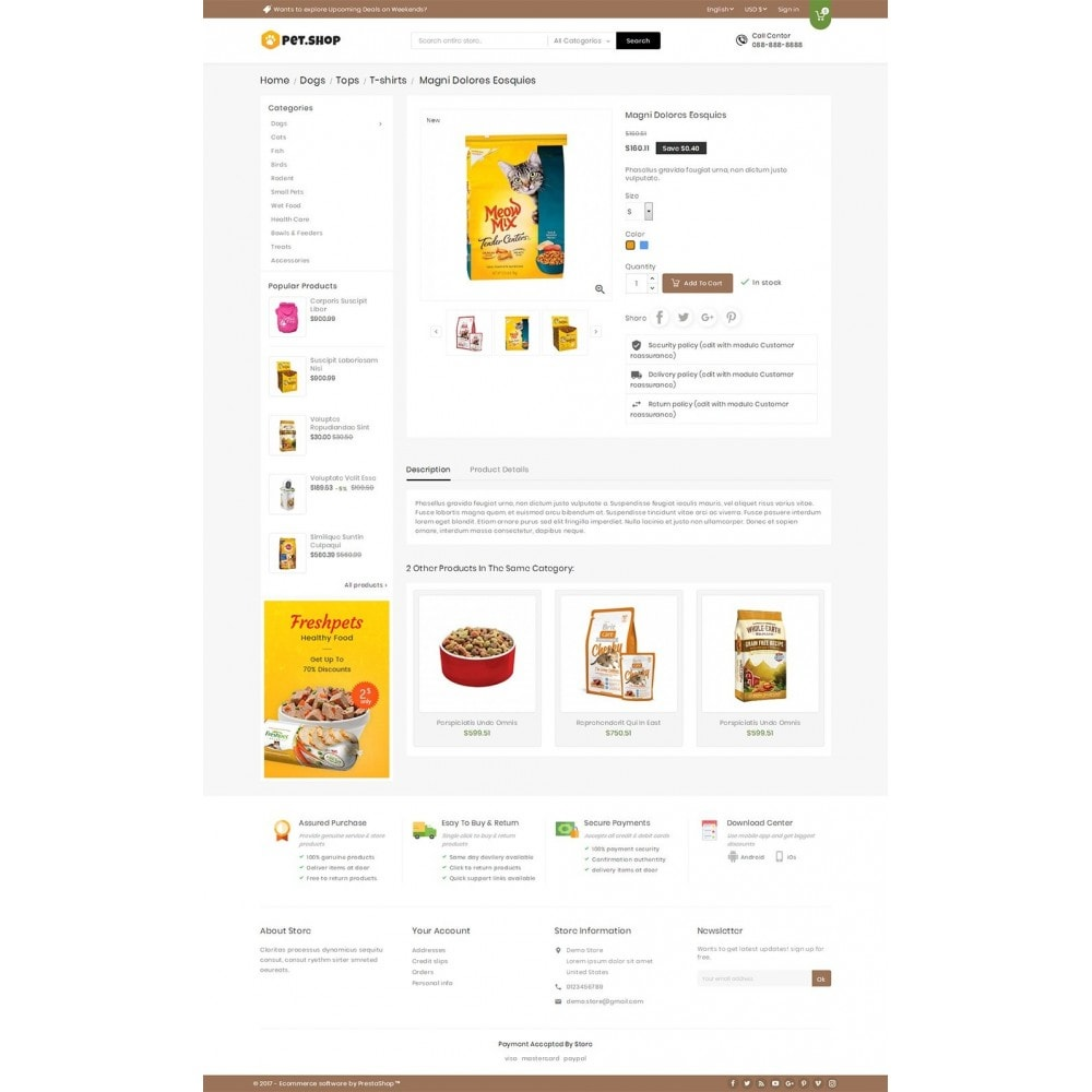 theme - Animais - Mega Pet Food - 5