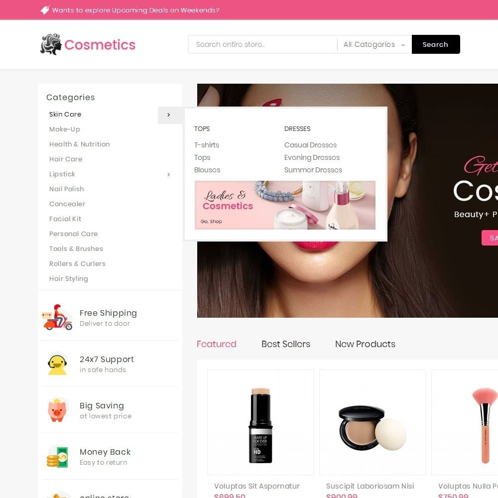 theme - Health & Beauty - Mega Cosmetics - 11