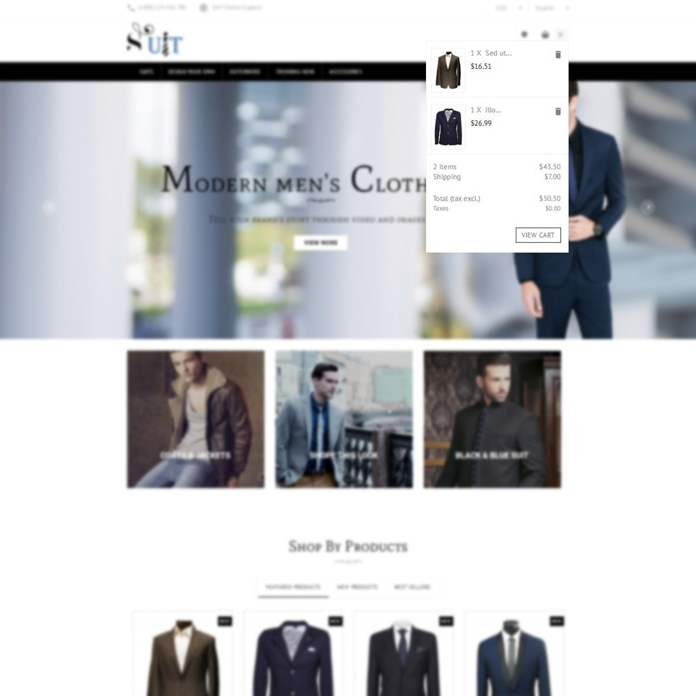 theme - Mode & Schoenen - Suit Store - 6