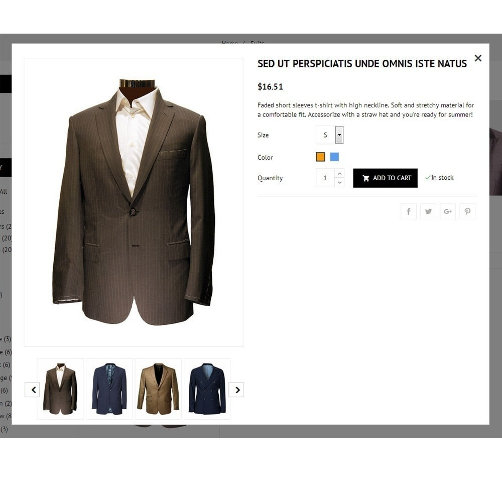 theme - Mode & Schoenen - Suit Store - 7