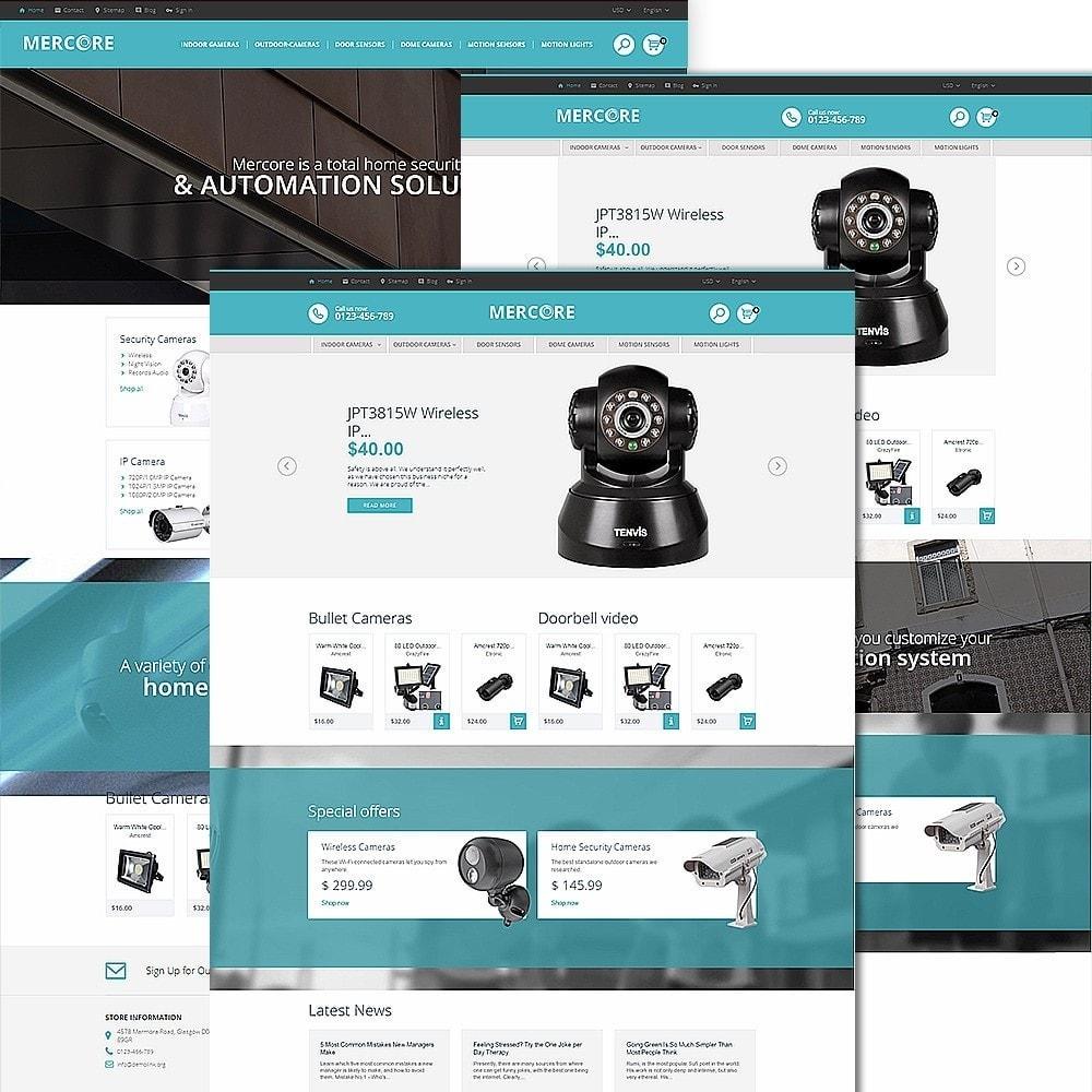 theme - Electronique & High Tech - Mercore - Magasin d'équipement de sécurité - 2