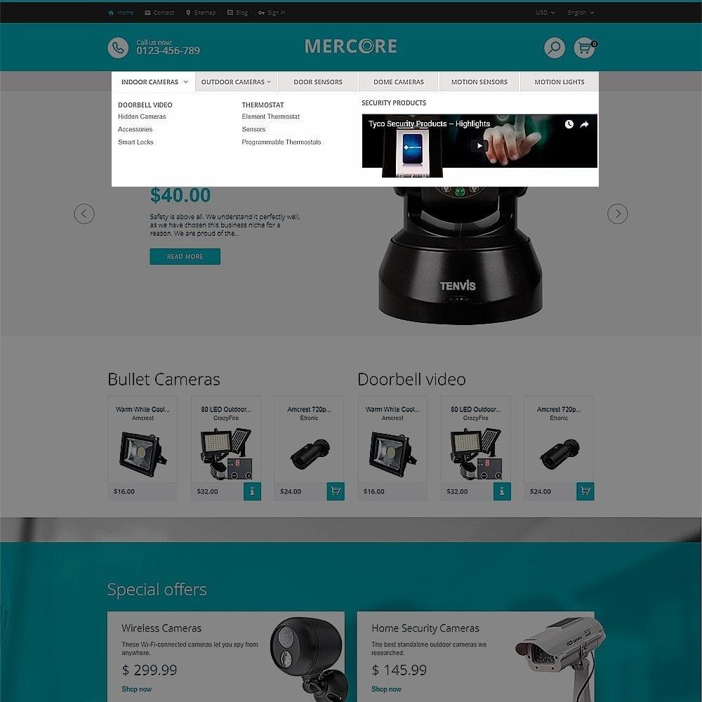 theme - Электроника и компьютеры - Mercore - шаблон по продаже средств безопасности - 5