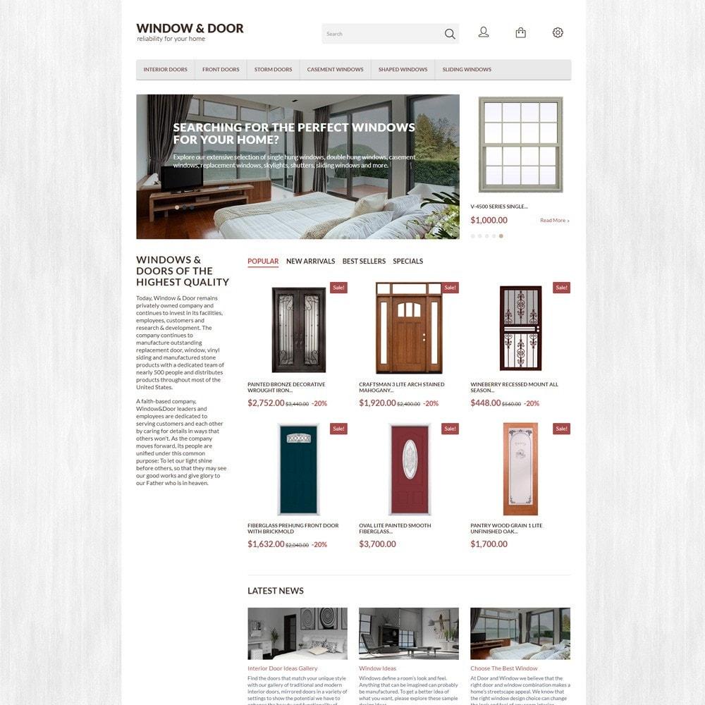 theme - Home & Garden - Window Door PrestaShop Theme - 2