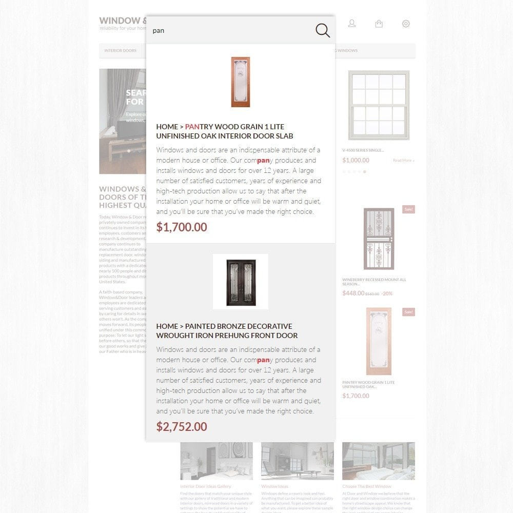 theme - Maison & Jardin - Window Door thème PrestaShop - 3