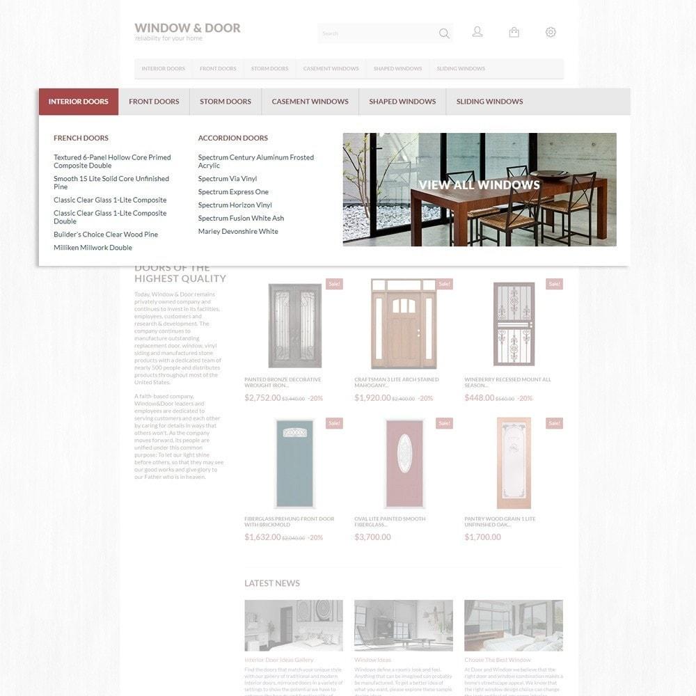 theme - Casa & Giardino - Modello PrestaShop Bootstrap per Un Sito di Finestre - 6